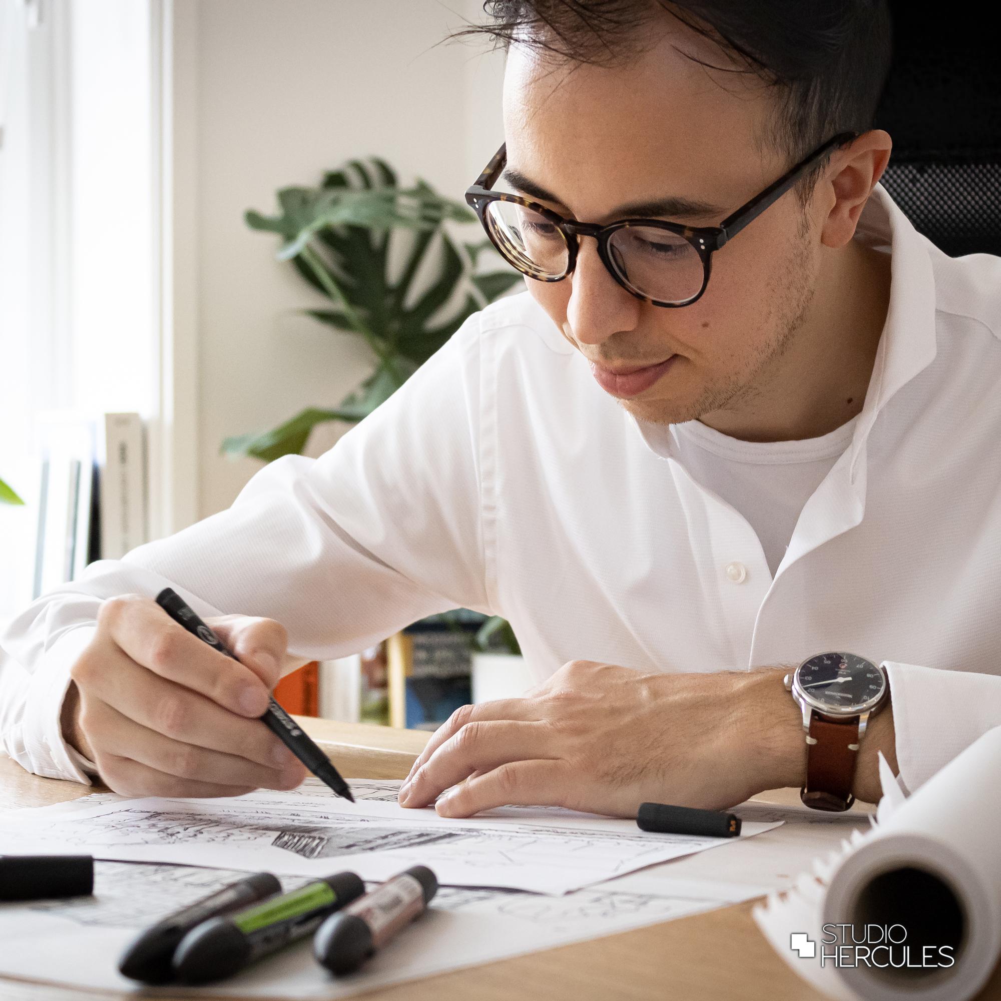 Architect Maarten Hercules van Studio Hercules
